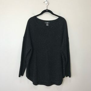 Lord & Taylor black Cashmere sweater. Size 1X